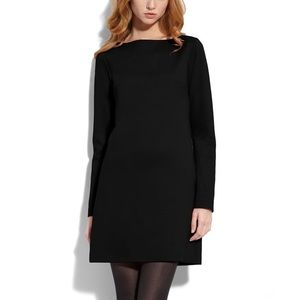 Trina Turk black river mini dress